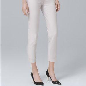 White House Black Market Pants - White House Black Market Size 8 Slim Crop Pant
